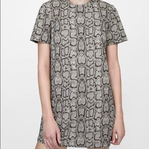 Zara Jacquard Snake sprint Dress